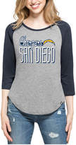 '47 Women's San Diego Chargers Club Block Raglan T-Shirt