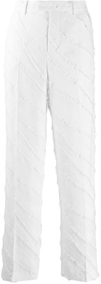 Zadig & Voltaire High-Waisted Textured Trousers