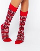 Jack Wills Holidays Fairisle Darrowby Socks