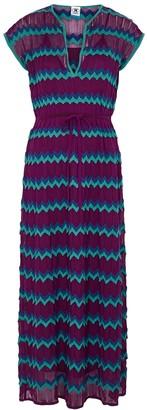 M Missoni Zigzag fine-knit midi dress