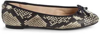 Sam Edelman Charlotte Embossed Faux Leather Flats