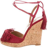 Aquazzura Wild One Wedge Sandals w/ Tags