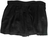 American Vintage Black Cotton Skirt for Women