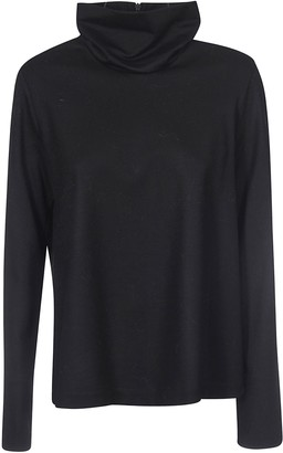 Forte Forte Rear Zipped Sweater