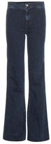 J Brand Tailored Flare high-rise jeans