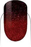 Le Chat LECHAT Perfect Match Mood Gel Polish, Scarlet Stars, 0.500 Ounce