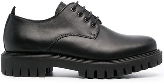 Tommy Hilfiger Chunky-Sole Leather Shoes