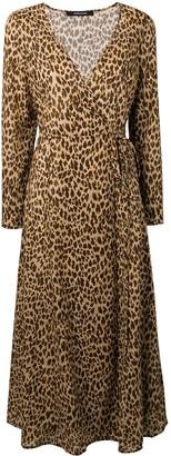Andamane Andrea wrap maxi dress