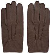 Reiss Glenworth Tumbled Leather Gloves