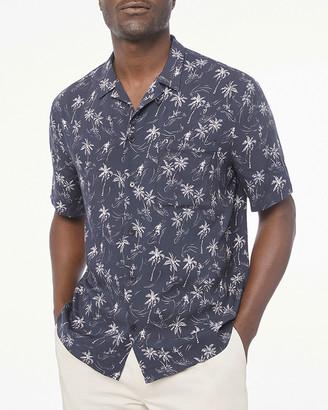 Frame Men's Palm Tree Camp Shirt