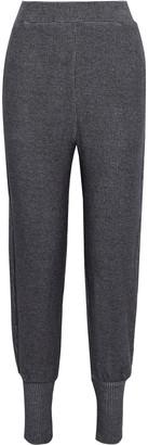 Walter Baker Devon Melange Ribbed-knit Track Pants