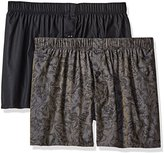 Hanro Men's Fancy Woven 2-Pack Boxer