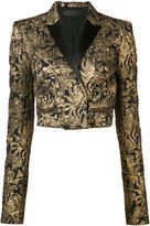 Haider Ackermann jacquard jacket - women - Cotton/Rayon/Viscose - 36