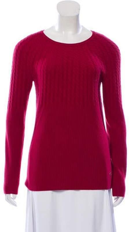 Loro Piana Medium-Weight Cashmere Sweater silver Medium-Weight Cashmere Sweater