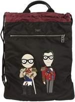 Dolce & Gabbana Designer Patch Backpack