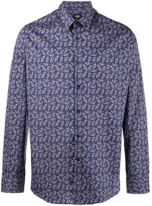 Fendi Jaguar printed shirt