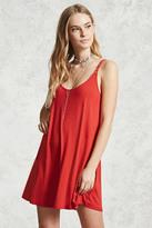 Forever 21 FOREVER 21+ Scoop-Neck Cami Mini Dress