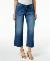 Style&Co. Style & Co. Cropped Madrid Wash Wide-Leg Jeans, Only at Macy's