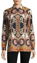 Etro Paisley Button-Front Shirt