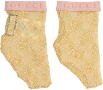 Gucci Logo Lace Socks