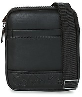 Calvin Klein Jeans BENNET MINI FLAT CROSSOVER Black