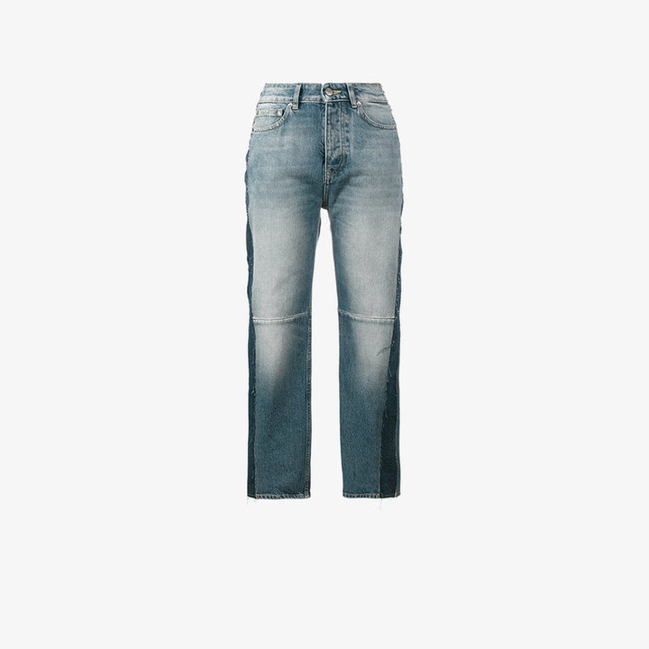 Golden Goose Deluxe Brand Happy high-rise cropped jeans