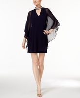 Xscape Evenings Petite Capelet Sheath Dress