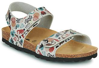 Citrouille et Compagnie BELLI JOE girls's Sandals in Beige