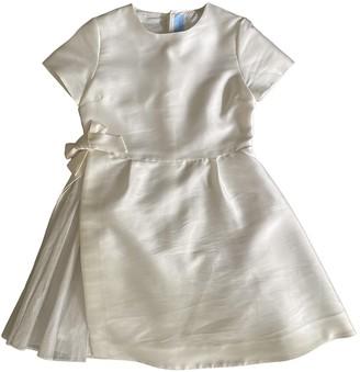 Lanvin White Silk Dresses