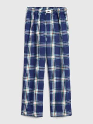 Gap Kids Flannel Plaid PJ Pants