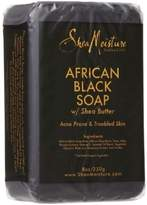 Shea Moisture African Black Soap With Shea Butter 8 oz (Pack of 3)