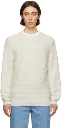 A.P.C. Off-White Nicolas Sweater