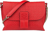 Loewe Avenue embossed leather cross-body bag