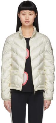 Moncler White Down Lanx Jacket