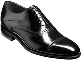Barker Wilton Goodyear Welt Leather Oxford Shoes, Black