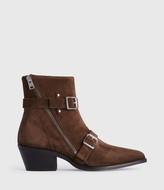 AllSaints Lior Suede Boots