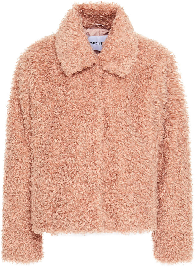 Stand Studio Faux Shearling Jacket