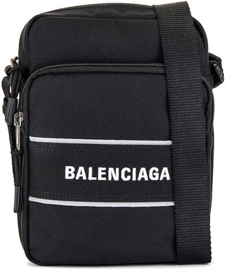 Balenciaga Sport Messenger Bag in Black | FWRD