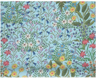 Gucci New Flora print wallpaper