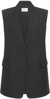 Sportmax Cima Heavy Cotton Poplin Vest