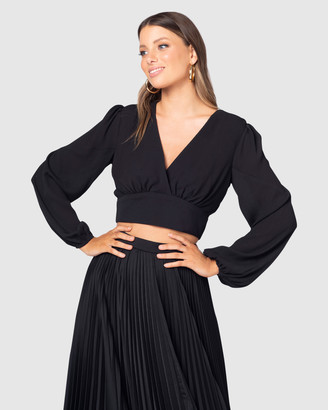 Pilgrim Women's Black Shirts & Blouses - Milana Top - Size One Size, 6 at The Iconic