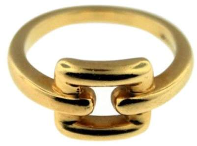 Tiffany & Co. 18k Yellow Gold Buckle Ring