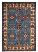 Solo Rugs Kazak Collection Floral Oriental Rug