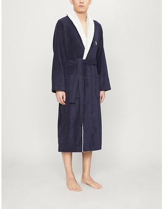 Polo Ralph Lauren Logo-embroidered cotton-towelling bathrobe