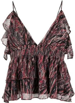 IRO Villars abstract vest