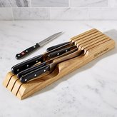 Crate & Barrel Wüsthof ® Gourmet 7-Piece In-Drawer Knife Set