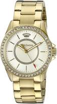 Juicy Couture Women's 'Laguna' Quartz Gold-Tone and Plated Casual Watch(Model: 1901409)