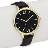 Merona Women's Strap Watch Black