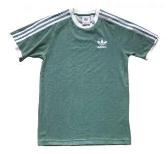 adidas Green Cotton Top for Women