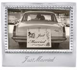 Mariposa Just Married Frame